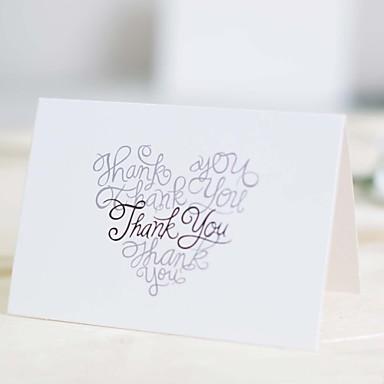 Ylhäältä taitettu Hääkutsut Kihlajaiskutsut Bachelorette Party Kortit Kutsusetit Kutsukortit Kirjekuori Tarra Kiitoskortit Program Fan
