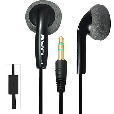 AWEI ES10 Fones de Ouvido Intra-AuricularesForLeitor de Média/Tablet / Celular / ComputadorWithRedução de Ruídos