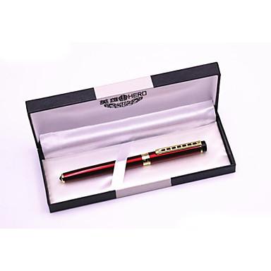 ペン ペン 万年筆 ペン,プラスチック メタル バレル ブラック インク色 For 学用品 事務用品 のパック