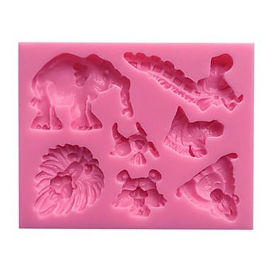 1 Bakken Milieuvriendelijk / nieuwe collectie / Doe-het-zelf / 3D / Hoge kwaliteit Cake Kunststof Bakvormen