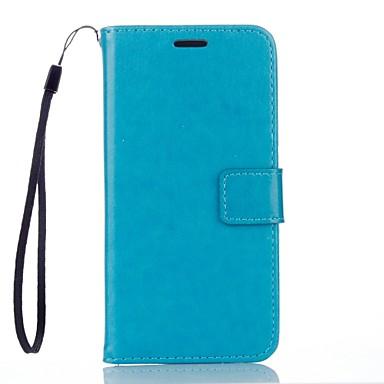 Hülle Für Xiaomi Mi Hülle Kreditkartenfächer Geldbeutel mit Halterung Ganzkörper-Gehäuse Volltonfarbe Hart PU-Leder für Xiaomi Redmi Note