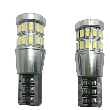 2pcs Coche Bombillas SMD 4014 LED Lámpara Decorativa / Luz de Matrícula / Luz de Lectura