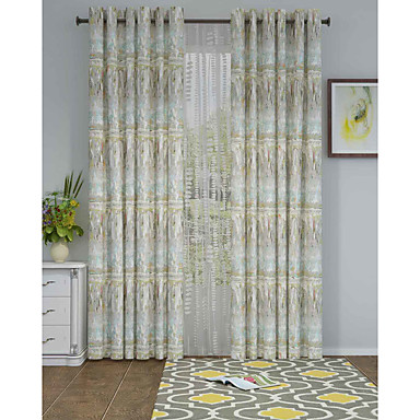 Eén paneel Window Behandeling Designer , Camouflage Woonkamer Polyester Materiaal Curtains Drapes Huisdecoratie For Venster