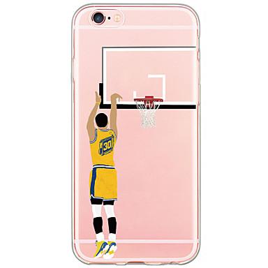 Para iPhone X iPhone 8 iPhone 6 iPhone 6 Plus Capinha iPhone 5 Case Tampa Estampada Capa Traseira Capinha Desenho Animado Rígida PUT para