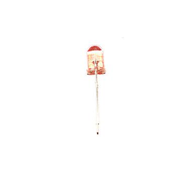F5赤い丸い発光ダイオード