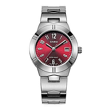 Dames Modieus horloge Kwarts / Roestvrij staal Band Vrijetijdsschoenen Zilver