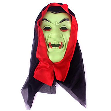 (Cor aleatória) hallowmas 1pc máscara de terror decorar hallowmas festa à fantasia