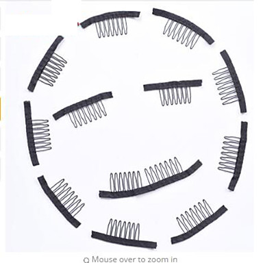 Klipsit Klipsit Wig Accessories Plastic 60 Peruukit Hair Tools