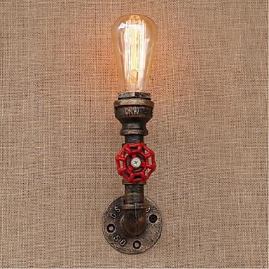 Rústico / Campestre Lámparas de pared Metal Luz de pared 110-120V / 220-240V 40W / E27