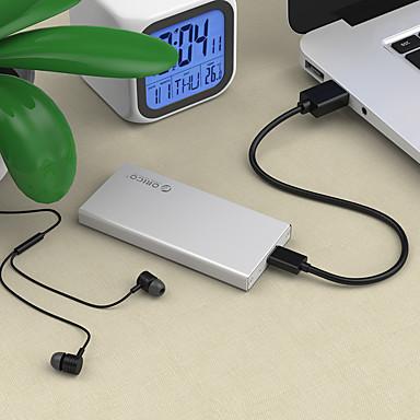 Orico msa mSATA SSD solid state mobiele harde schijf doos beginnen mini sata notebook harde schijf doos willekeurige kleur
