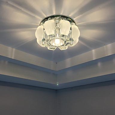 Kattovalaisimet Lämmin valkoinen Kylmä valkoinen Kristalli LED Minityyli Lamppu sisältyy hintaan 1 kpl