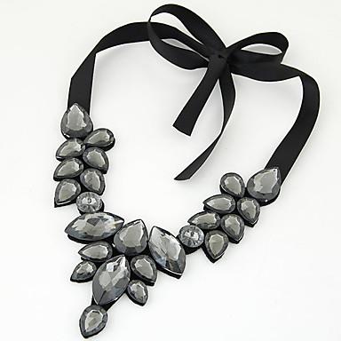 Mujer Collar - Europeo, Moda Azul, Dorado, Arco iris 50 cm Gargantillas Para Fiesta, Diario, Casual / Gema