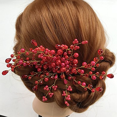 acryl legering bloemen haarspeld hoofddeksel klassieke vrouwelijke stijl