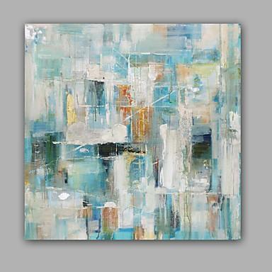 Pintura al óleo pintada a colgar Pintada a mano - Abstracto Clásico Modern Lona