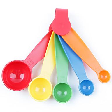 1pcs cor original aleatória tapa-up da cozinha do agregado familiar fornece a colher de dosagem cozinha artefato