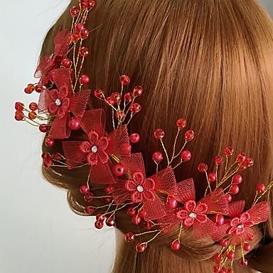 acryl netlegering bloemen zendspoel klassieke vrouwelijke stijl