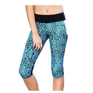 Dames Fitnessleggings Strakke hardloopbroek Basislaag Ademend Kleding Onderlichaam Yoga Training&Fitness Hardlopen Katoen S M L