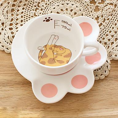 Copos Vidro Copos / Copos Inovadores / Canecas de Café presente namorada / Decoração 1 pcs