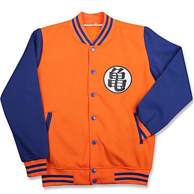 Ternos de Cosplay Inspirado por Dragon ball Son Goku Anime Acessórios para Cosplay Camisa Algodão Homens Mulheres