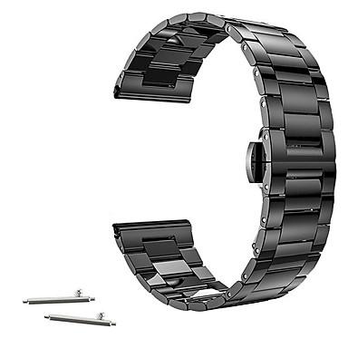 Klokkerem til Huawei Watch / Withings Activité / Withings Activité Pop Huawei / Withings Klassisk spenne Rustfritt stål Håndleddsrem