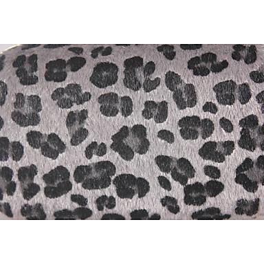 baratos Super Ofertas-Mulheres Pêlo PU Leather / Camurça Bolsa de Festa Estampa de Leopardo Leopardo / Verde Claro / Cinza Claro