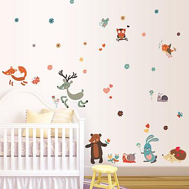 Dekorative Wand Sticker - Flugzeug-Wand Sticker Tiere / Mode / Cartoon Design Wohnzimmer / Schlafzimmer / Studierzimmer / Büro