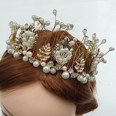 Tule / Acrílico / Strass Headbands / Flores com 1 Casamento / Ocasião Especial / Casual Capacete