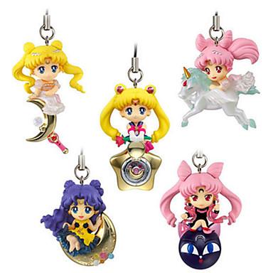 Anime Action Figurer Inspirert av Sailor Moon Princess Serenity PVC 5 CM Modell Leker Dukke