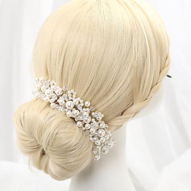 Απομίμηση Μαργαριταριού Κράμα Κεφαλές 1 Γάμου Headpiece