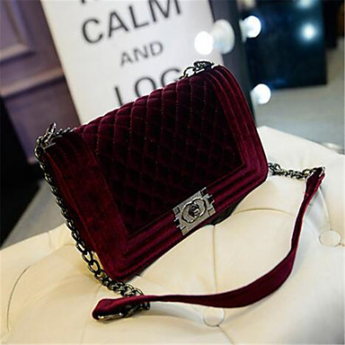 Women Bags PU Shoulder Bag for Casual Outdoor Black Purple Red