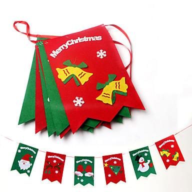 1kpl joulukoristeet roikkuu joulukoristeita flag hotelli decoration markkinoilla