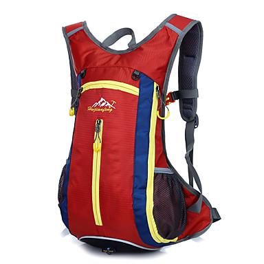 男女兼用 バッグ ナイロン バックパック のために スポーツ アウトドア オールシーズン オレンジ パープル レッド グリーン