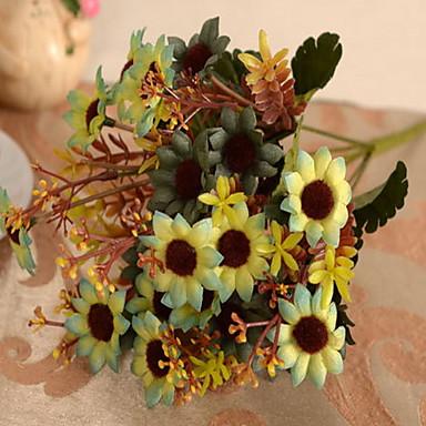 1 1 Branch Plastikk / Others Planter / Others Bordblomst Kunstige blomster