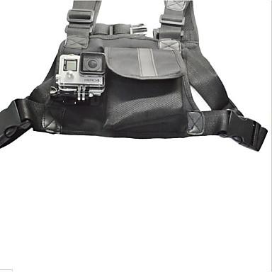 チェストストラップ ショルダーストラップ カメラレンズ 便利 ために アクションカメラ Gopro 5 合成