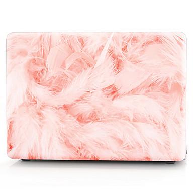 MacBook ケース / ラップトップケース 羽毛 プラスチック のために MacBook Air 13インチ / MacBook Pro 13インチ / MacBook Air 11インチ