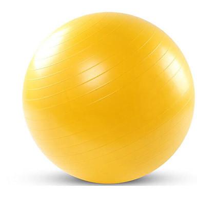 75cm Bola para Exercícios Profissional, À prova de explosão Plástico Apoio, suporte 500 kg Com Treinamento de Equilíbrio Para Ioga / Pilates / Fitness
