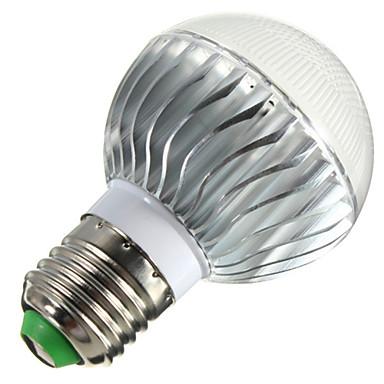 YWXLIGHT® 400lm E14 E26 / E27 B22 Lâmpada Redonda LED B 3 Contas LED LED de Alta Potência Regulável Decorativa Controle Remoto RGB 85-265V