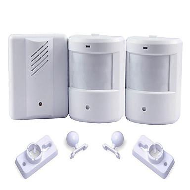 Exterior Courtesy Door Bell Alarm Chime Doorbell Wireless Infrared