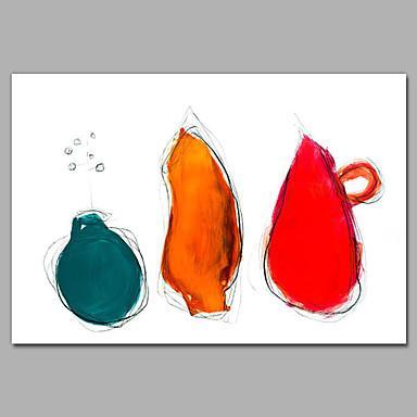 iarts kolme ellipsi kangas taidetta nykytaidetta kehystetty kodinsisustus