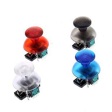 Udskiftning 3D Vibrerende Rocker Joystick Cap Shell Mushroom Caps til PS3 Trådløs controller (Green Chip)