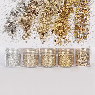 1 pcs Glitter & Poudre / Paljetter Glitters / Klassisk Daglig