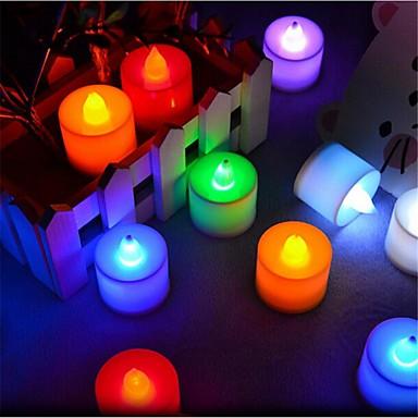 300 lm LEDキャンドルライト T 1 LEDの DIP LED 装飾用 ピンク グリーン イエロー ブルー レッド AC85-265V
