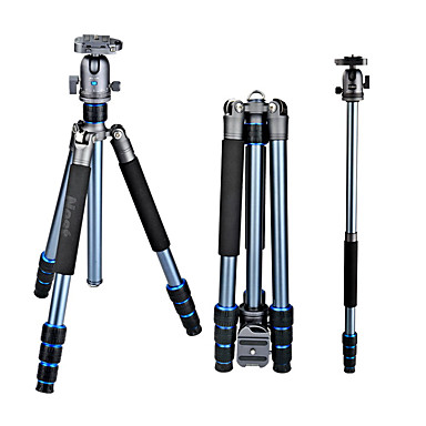 Aluminium 470mm 4.0 Osat Digitaalikamera Kolmijalkainen jalusta