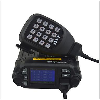 KT-8900D Walkie Talkie  Para Vehículo / Analógico Alarma de Emergencia / Programable con Software de PC / Comando por Voz >10KM >10KM 200 25W/20W(VHF/UHF) Walkie talkie Radio de dos vías