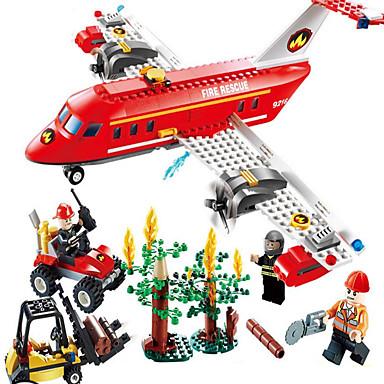 GUDI アクションフィギュア ブロックおもちゃ 知育玩具 飛行機 フォークリフト 子供用 女の子 男の子 ギフト
