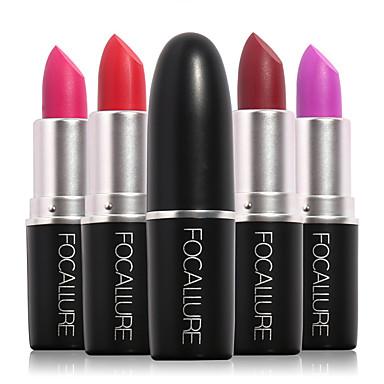 Herramientas de Maquillaje Barras de Labios 1 pcs Húmedo / Mate / Mineral Impermeable / Secado rápido / Larga Duración Maquillaje Cosmético Diario Útiles de Aseo