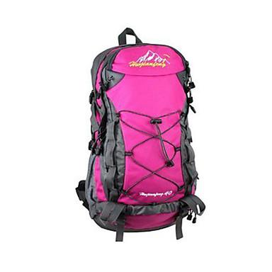 40 L バックパッキング用バックパック トラベルダッフル バックパック 登山 キャンピング&ハイキング 旅行 耐久性 ナイロン