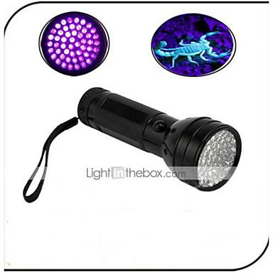 On-Off Lanternas LED LED 100lm 1 Modo Iluminação Impermeável / Detector de Falsificações / Luz Ultravioleta Uso Diário / Viajar
