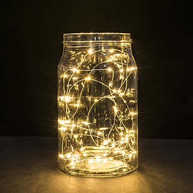 30 leds kobbertråd lys 3m streng lys til jul lys festival bryllup eller hjem dekorasjon lampe