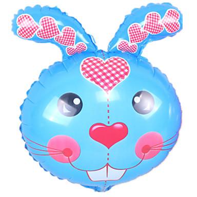 voordelige Ballonnen-Ballen / Ballonnen Rabbit Dieren / Feest / Opblaasbaar Aluminium Jongens / Meisjes Geschenk